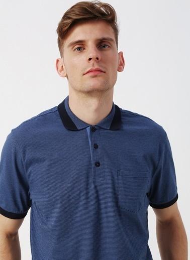 Cotton Bar Tişört İndigo